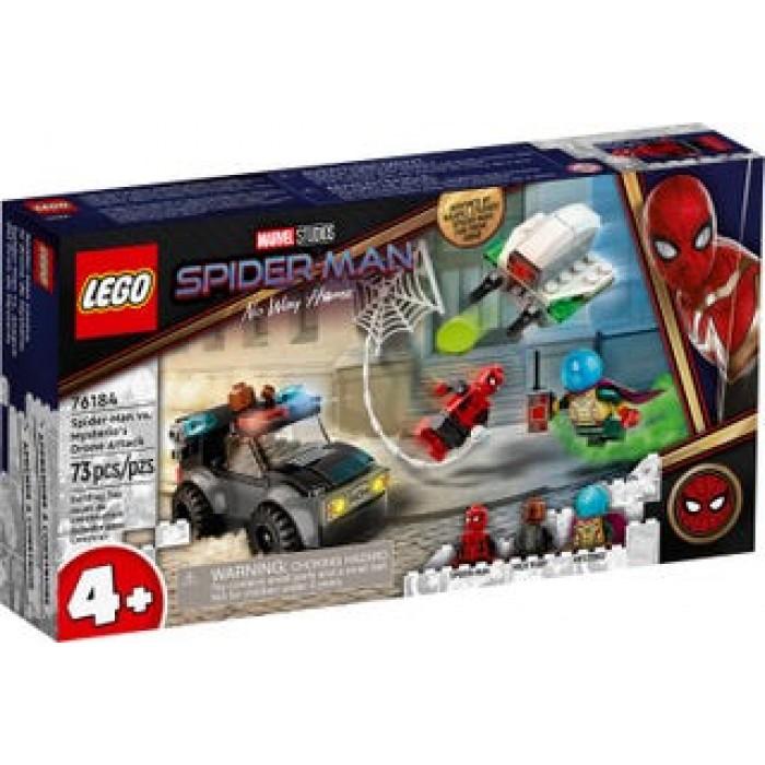 LEGO Marvel : Spider-Man contre le drone de Mystério - 72 pcs