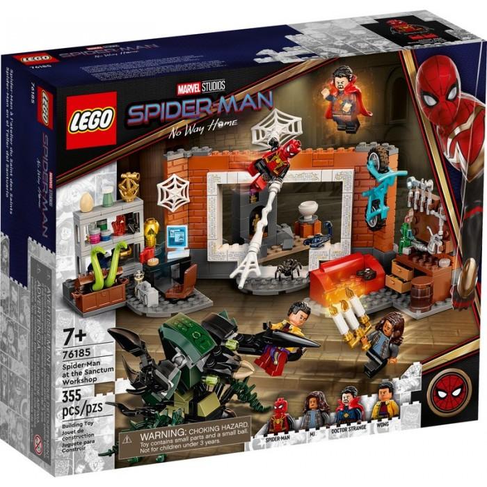 LEGO Marvel : Spider-Man à l'atelier du Saint des Saints - 455 pcs