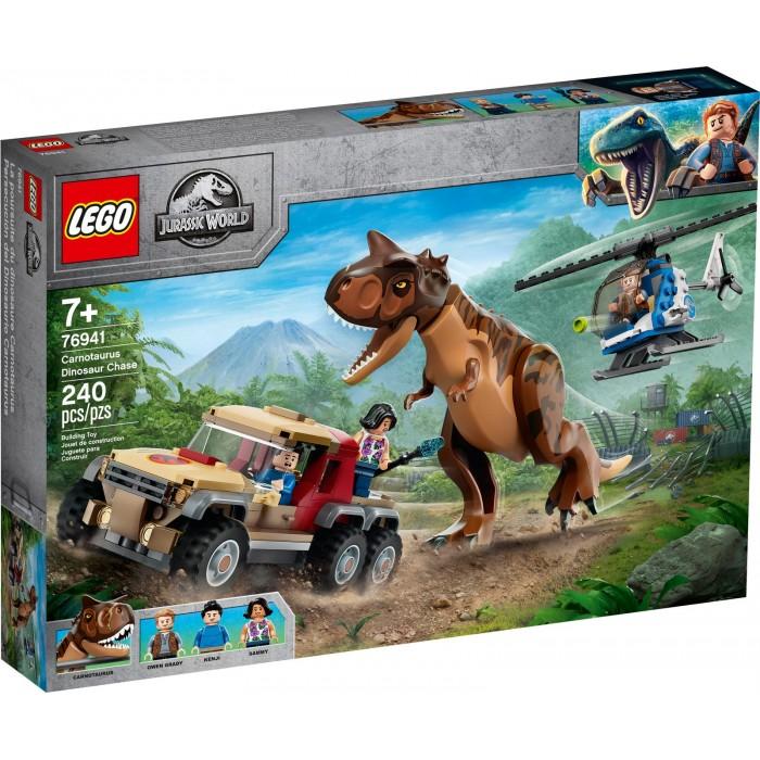 LEGO Jurassic World : La chasse du Carnotaurus - 240 pcs