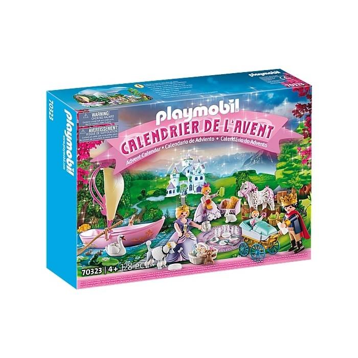 Playmobil : Calendrier de l'Avent: Pique-nique royal est parfait pour compter les dodos avant Noel pour les enfants de 4 ans et plus - Franc Jeu Repentigny