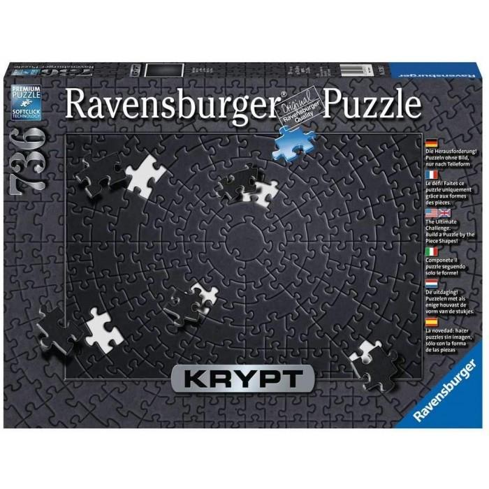 Mettez vos capacités de puzzleur au défi avec ce casse-tête Krypt Noir de Ravensburger! 631 pièces noires à assembler pour les adultes.
