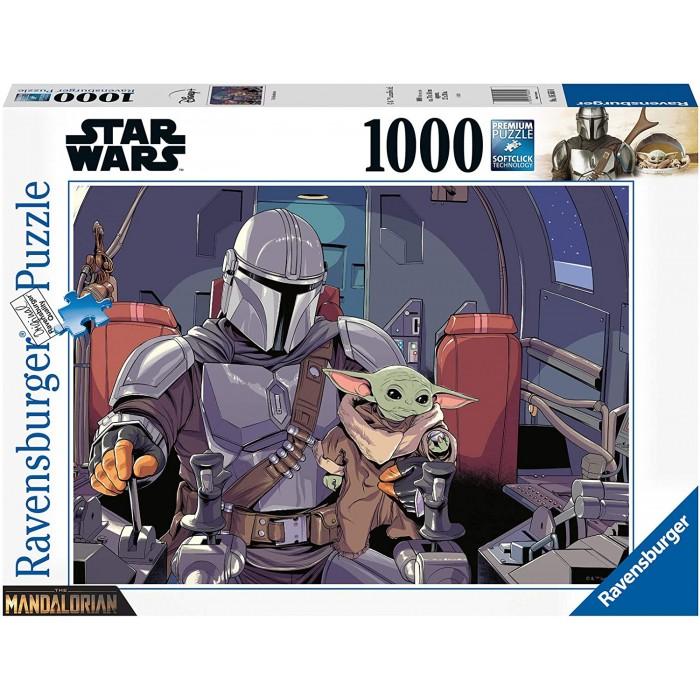 The Mandalorian est un casse-tête de Star Wars de 1000 morceaux de Ravensburger - Franc Jeu Repentigny