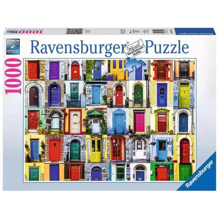 Portes du monde est un casse-tête pour adultes de 1000 morceaux de Ravensburger- Franc Jeu Repentigny