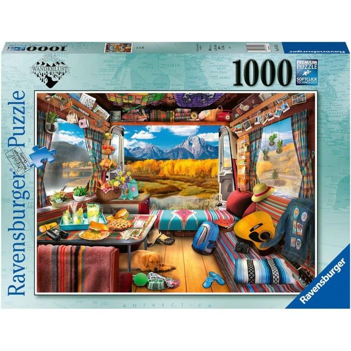 Camper est un casse-tête de 1000 morceaux de Ravensburger - Franc Jeu Repentigny
