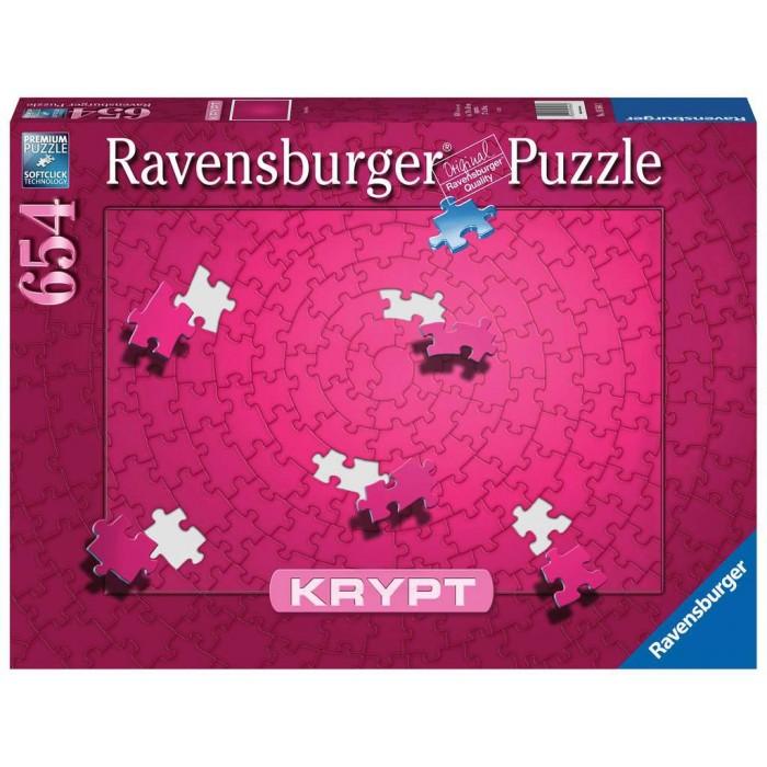 Krypt Rose est un casse-tête de 654 pièces de Ravensburger - Franc Jeu Repentigny