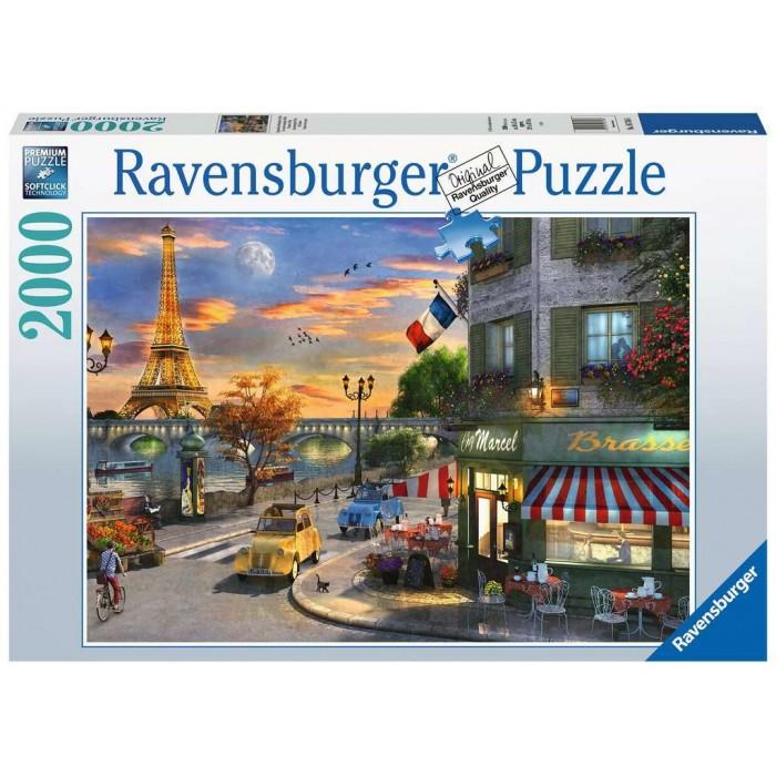 Soirée à Paris est une casse-tête de 2000 morceaux de Ravensburger - Franc Jeu Repentigny