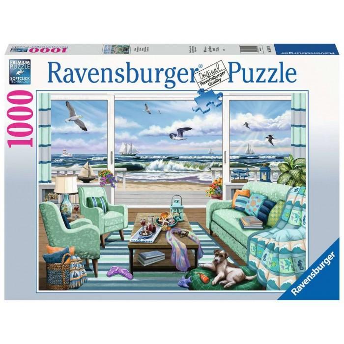 Maison en bord de mer est un casse-tête de 1000 morceaux de Ravensburger - Franc Jeu Repentigny