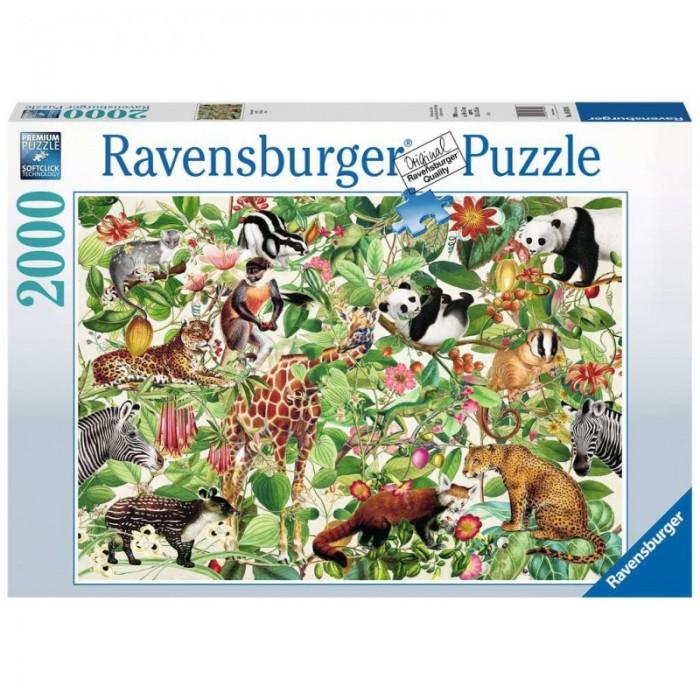 Jungleest une casse-tête de 2000 morceaux de Ravensburger - Franc Jeu Repentigny