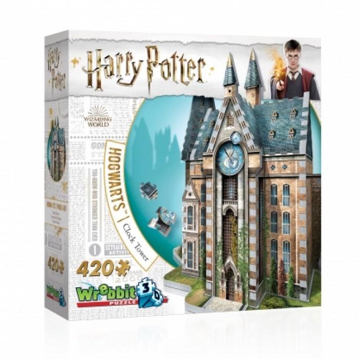 Casse-tête 3D - Wrebbit 420 pcs - Poudlard: La Tour de l'horloge  #W3D-1013 - Franc Jeu Repentigny